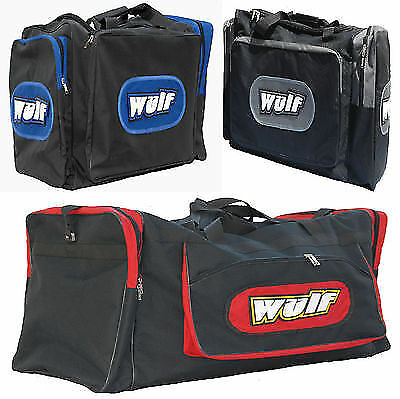Wulfsport Motorcycle Quad Bike Touring Atv Trials Kit Bag For Helmet Boots Gear