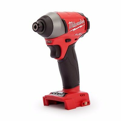 """Milwaukee M18Fid 18V Li-Ion Fuel Bruhsless 1/4"""" Hex Impact Driver - Skin Only"""