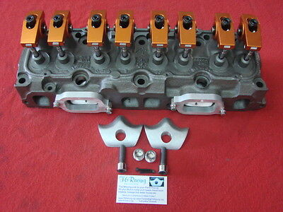 7/16 Stud thread 153 Chevy L4 Custom Roller Rocker Arm Kit.