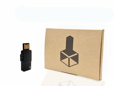 Digital Bitbox cryptocurrency hardware wallet device for secure bitcoin storage