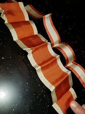 WWI Imperial German Austrian Gallantry Order Wide Neck & Medal Ribbon Unknown