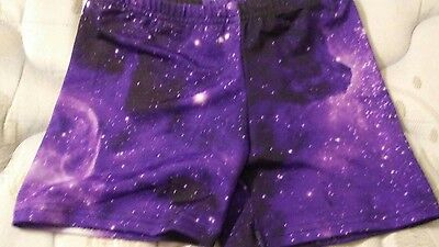 Dance/exercise shorts small