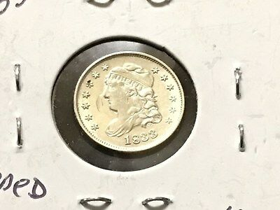 1833 .5 silver Capped Bust Half Dime