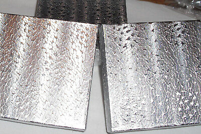 "4-Silver Foil Jewelry Gift Boxes 3.5' x 3.5"" x 1"" Free Ship within USA"