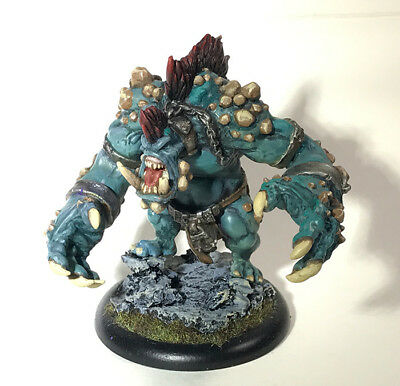 Well Painted Dire Troll Mauler Trollbloods Warbeast Warmachine Hordes