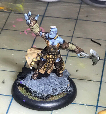 Painted Janissa Stonetide Trollbloods Solo Warmachine Hordes