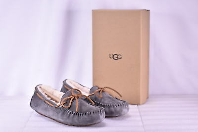 Women's Ugg  5612W/CHE Dakota Slippers Pewter