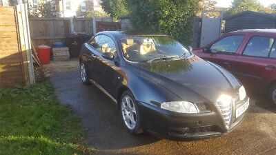Alfa Romeo GT 1.9 diesel, 2006, black, tan leather seats, 133k miles, no reserve