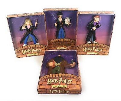 Harry Potter Collection Harry Hermoine Hagrid Ron Holiday Ornaments Collection