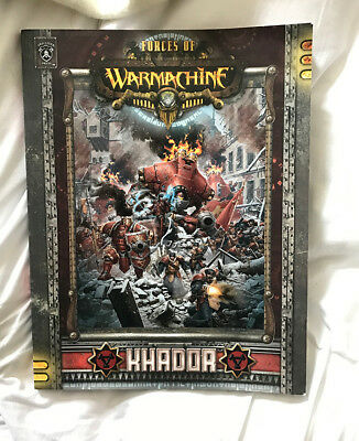 Forces of Warmachine Khador softcover book Warmachine Hordes