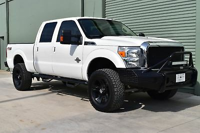 "2015 Ford F250SD Lariat 2015 Level Kit, XD 20"" Wheels, 35 Inch tires, Crew Cab, 4wd, Lariat!"