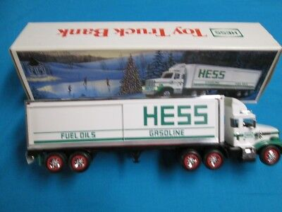 New 1987 Hess Truck With Rare Smooth Side Tanks