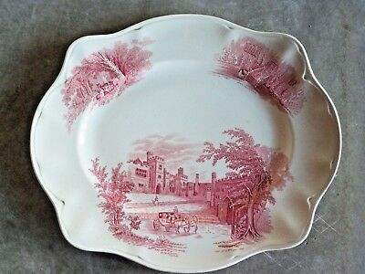 Large Johnson bros. Haddon Hall Plate. VGC