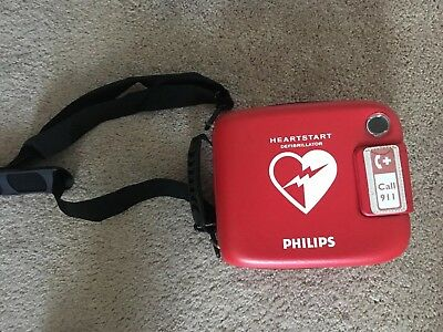 Philips HeartStart FRx AED w/ Case, Battery and Pads