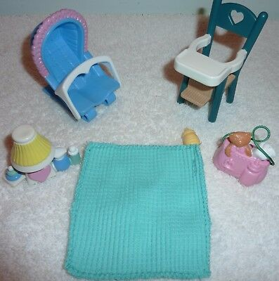 Fisher Price Loving Family Dream Dollhouse Baby's Belongings Baby`s Accessories