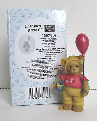 Cherished Teddies FOREVER MY HUNNY Winnie the Pooh Avon Exclusive NEW in BOX