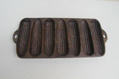 Antique Cast Iron WAGNER WARE CORN BREAD MOLD C  Made in USA