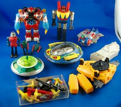 Job Lot JAPAN GOLDRAKE Atlas Ufo Rob - MAZINGA Z - Disco Volante Polistil - UFO2