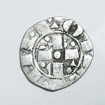 PAPAL STATES - Gregory XI (1370-1378) Bolognino ND - Silver - SCARCE