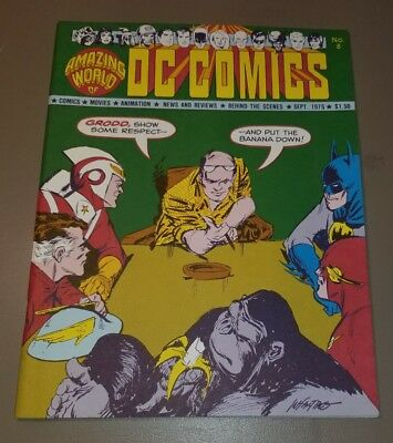 AMAZING WORLD OF DC COMICS 1975 #8 Infantino Issue