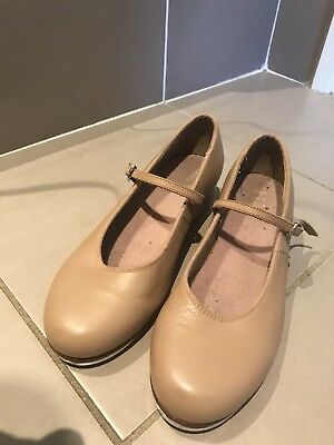 Bloch Tan Tap Shoes Size Ladies 7 Great Condition