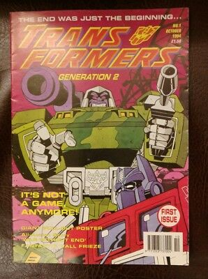 Transformers Generation 2 Issue 1