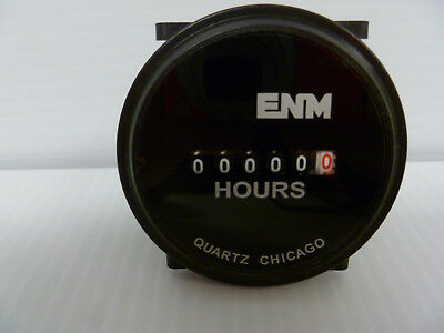 NEW ENM T40A45 Hour Meter 10-80V DC Free Shipping