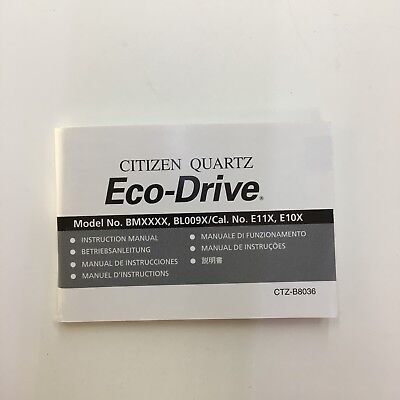 Eco Drive Instruction Manual User Guide Manual That Easy To Read