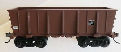 IRON ORE CAR FROM  START SET, MADE BY BACHMANN, USED (missing ladders) NO BOX