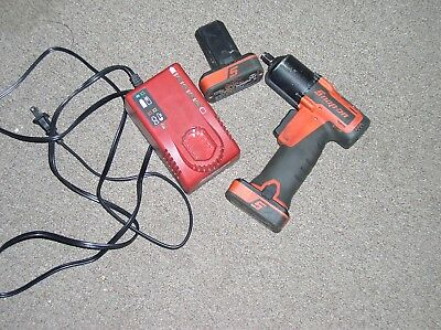 """Snap-On CT761 3/8"""" impact Wrench W/ 2 Batteries and Charger"""