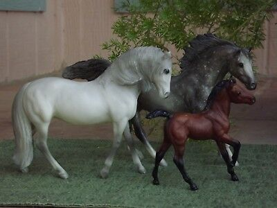 Breyer 1984 Sears Holiday Catalog SR Classic Andalusian Family ~ Hard to Find