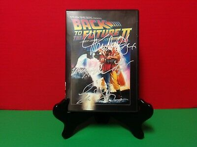 Back to the Future Part II Signed by Michael J. Fox, Christopher Lloyd & MORE