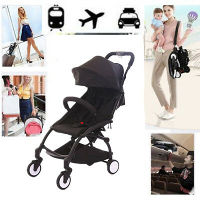 Compact Pram With Super Foldable Baby Strollers Lightweight Travel CarryoN Plane