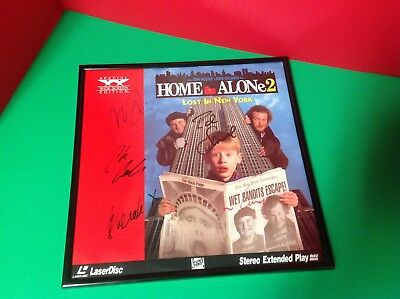 Home Alone 2 Signed by Macaulay Culkin, Chris Columbus, Tim Curry & MORE