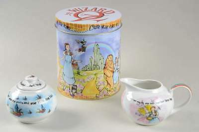 Cardew Design WIZARD OF OZ Creamer & Sugar With Gift Tin 10761181