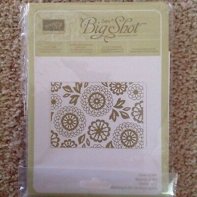 Stampin Up Lovely Lace Embossing Folder