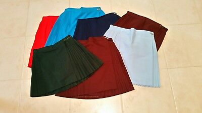 Ladies / School / Sport Netball Skirts Bulk Used In Vg Condition