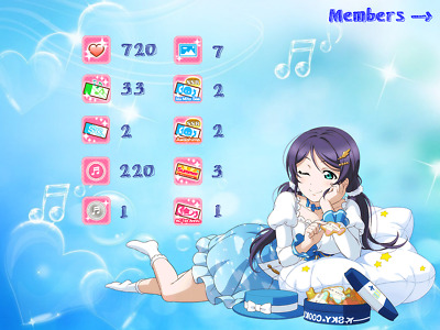 [EN] 15 UR, 200 love gems, 7-8 ticket love live starter account both IOS/Android