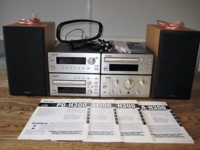 TEAC H300 System incl. system remote control