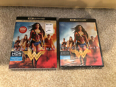 Wonder Woman ( 4K Ultra HD+Bluray +Digital ) Brand New