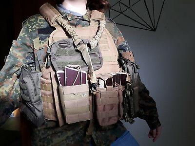Weste Mil-Tec Plate Carrier coyote