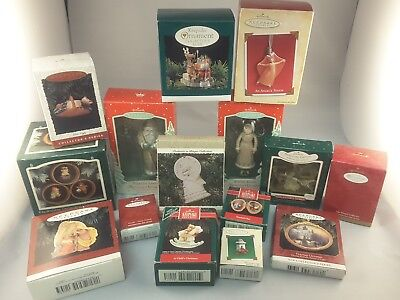 Lot of 15 Hallmark Keepsake Christmas Ornaments