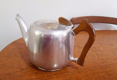 1960's Vintage Mid Century Mangalium Picquot Ware Teapot. Made in England