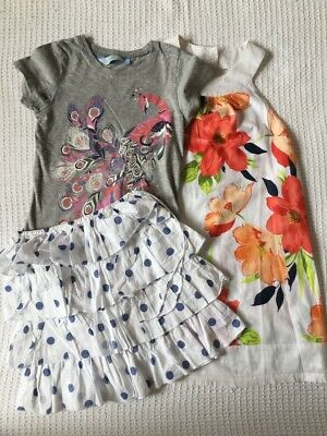 Girls Size 10 Dress, Top & Skirt: Seed & Tilli