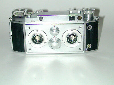 F40 STEREO JULES RICHARD objectifs 3.5/40 stereoscopie relief photo photographie