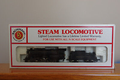 N Scale - Bachmann - Reading - Consolidation 2-8-0 & Tender - Vg Cond.