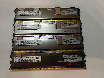hynix 4 x 16 GB 4Rx4 PC3 - 8500R-7-12-F0 Server RAM