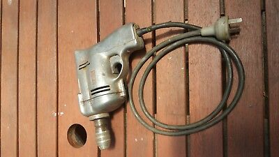 Antique Old School Electric Drill 10mm Chuck Sher Brand mauve