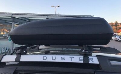 VDP Dachbox CA320 Relingtr/äger Quick Dacia Duster ab 2014 offene Reling