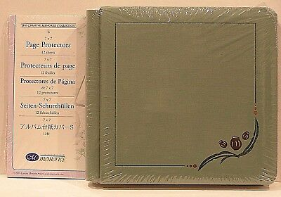 Creative Memories Gumnut Original 7 X 7 Album / Cover Set Bnip + Page Protectors